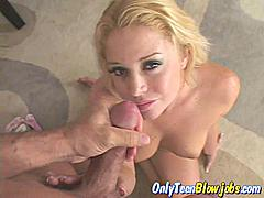 Holly Morgan isn't just another blonde babe who sucks cock rather well she is the only one that can maintain eyes contact for so long whilst sucking your cock.  This is why we always choose her for the best POV blow job porn you can get on the internet.  Holly Morgan knows that it isn't all about what she's doing with her mouth that makes you cum there is also a lot to do with those eyes and those eye lashes that bat up and down when she's horny!