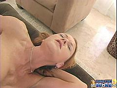 Soccer moms always have been good at juggling and the best test of this skill is in juggling two cocks. Janet Mason has her technique down pat. She sucks one while she jerks the other and then turns around to give the other cock equal attention. Only a skilled MILF can keep two cocks hard at the same time but Janet's mouth has had LOT's of practice. She gets fucked from one end while she drools on a cock at the other and they both feed her the kind of cock she isn't getting at home. This hot soccer mom might be wearing a wedding ring but we sent her home with two loads of strange cum.Mrs. Mason is the soccer mom who bakes cookies and takes cock!*Monique*