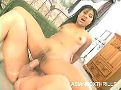 What could possibly be better than seeing Lyla Lei straddle a cock? She's a cute Asian honey with brown skin, tasty looking small tits and an outrageously tight pussy that likes to get stretched wide opened by the biggest and thickest meat around.