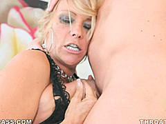 Hall of Fame pornstar Debi Diamond is bag in action as a MILF returning after years in retirement from her classic porn era video tapes. She still has all the same intensity and that world famous suck-off skill which made her a famous fuckhole in the first place!