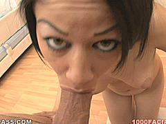 Summer Bailey has long black hair and leaves long strands of saliva dangling off the end of your cock as she slobbers all over it and waits for it to slobber back at her!