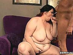 There's nothing like watching this heft hottie spread her thick thighs wide to welcome a cock. She's a grateful BBW model named Matalla and she's just too eager to please and was quick to get rid of her clothes and opens her massive fat thighs wide to welcome a big dick.