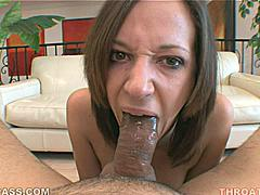 Jada Stevens has a bubbly personality which shouldn't surprise anyone who has seen the way her mouth bubbles-over with big gobs of throat goo as she sucks cock and begs for your cum. Here she goes with a two-handed grip and strokes your rod right at those sweet natural tits of hers. This is the video you need to see!