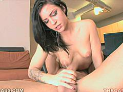 Pornstar Tori Lux usually does glamour films for big budget XXX studios. Today she decided to try and expand her horizons by having her throat fucked deep in this niche blowjob video that shows off the fact that she is more than just another pretty face. Tori gets nasty in this one!