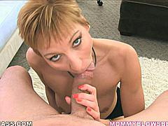 After so many years in an unhappy marriage recently divorced Gemma More has finely learned the fine art of being quiet. She won't annoy you during the game or talk out of turn when your friends are visiting. This MILF beauty sucks dick like a properly trained Mime! Quiet loving and sharing her best oral skills with you because she appreciates all you do for her on a daily basis. She's ready to become a good second wife for someone!